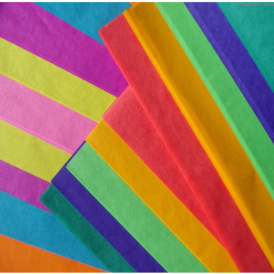 A4 Coloured Tissue Paper
